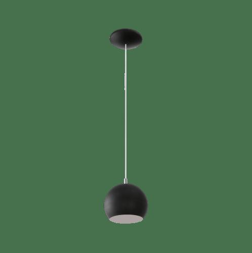 EGLO โคมไฟแขวน  1x 3.3W / ขนาด 173x195x1100       LED PETTO GU10  สีดำ