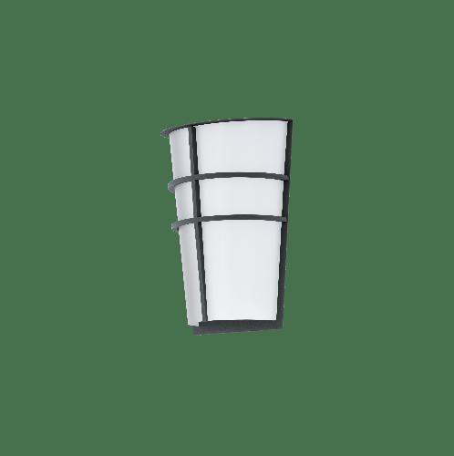 EGLO โคมไฟติดผนัง ภายนอก / 2x 2,5W / ขนาด 195x270x250 BREGANZO LED-MODUL สีขาว