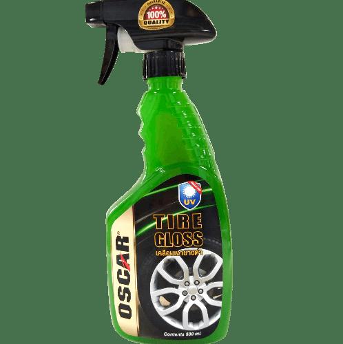 OSCAR น้ำยาเคลือบเงายาง  500ML - สีเขียว