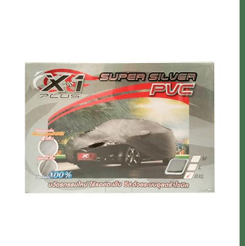 Mechanic-5 ผ้าคลุมรถ X-1 สีเทา M - สีเทา