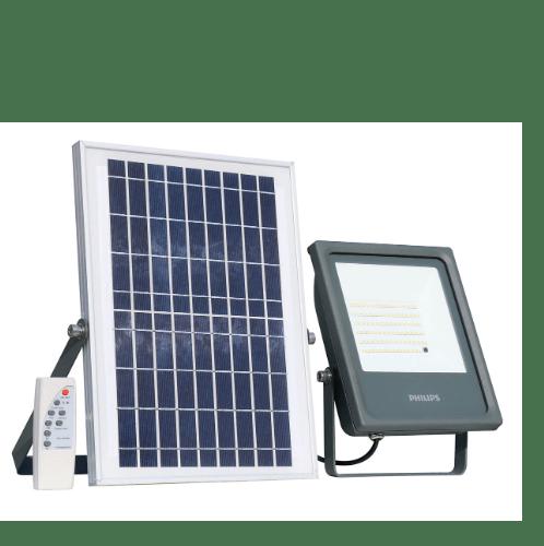 PHILIPS ฟลัดไลท์โซลาร์เซลล์ LED 10W IP66 1,000lm  BVP080 10