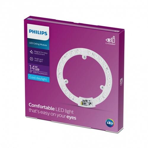 PHILIPS ไส้โคมไฟเพดานแอลอีดี  LED Circular MOD 14W 865 APR สีขาว