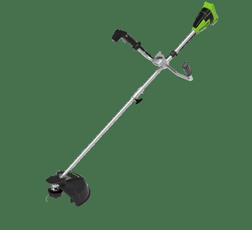 GREENWORKS เครื่องตัดหญ้าสะพายแบตเตอรี่ 40V143 (พร้อมแบตเตอรี่และแท่นชาร์จ) GWS0021 null