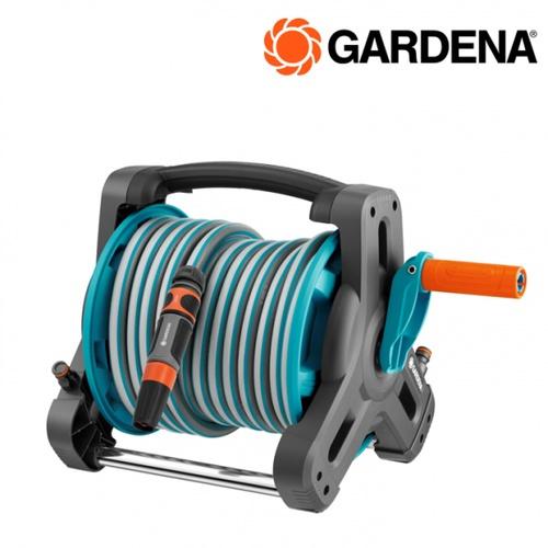 GARDENA ม้วนสายยางพร้อมที่เก็บ ขนาด 10 เมตร 08010-20 สีฟ้า