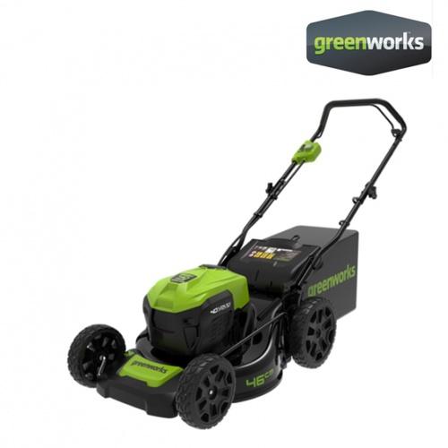 GREENWORKS รถตัดหญ้าเดินตามแบตเตอรี่ 40V (เฉพาะตัวเครื่อง) 40V