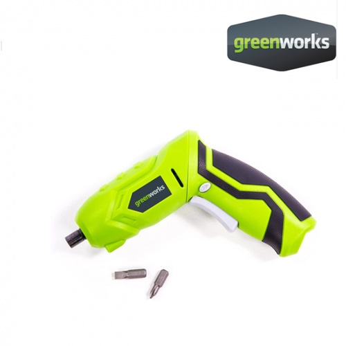 GREENWORKS  ไขควงไฟฟ้า  4V สีเขียว