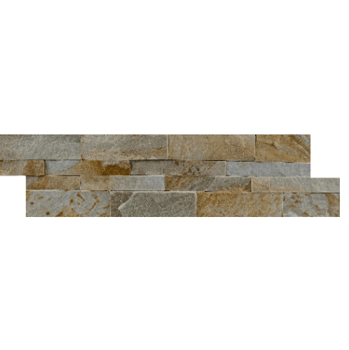 หินธรรมชาติ หินกาบจิ๊กซอทองประกาย NSD-GSE-021-1560