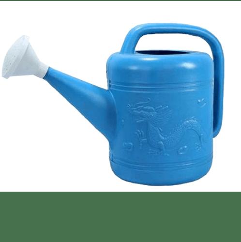 ตรามังกร บัวรดน้ำพลาสติก ขนาด  4 ลิตร  สีฟ้า