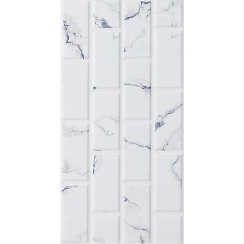 Marbella 30x60 กระเบื้องบุผนัง Marble Brick white   HY36002 (9P) A.