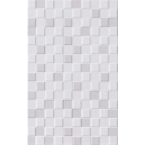 Marbella 10x16 กระเบื้องบุผนัง ลิเวีย ไวท์ LDR01 (15P) สีขาว