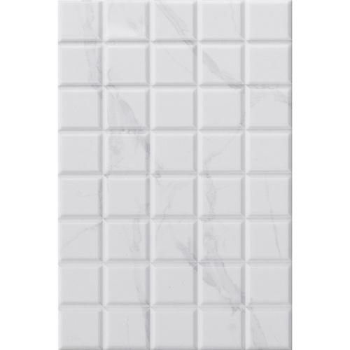 Marbella 8x12 กระเบื้องบุผนัง บริคบล็อค ไวท์ ZX2013 (25P) A.(Gloss) สีขาว