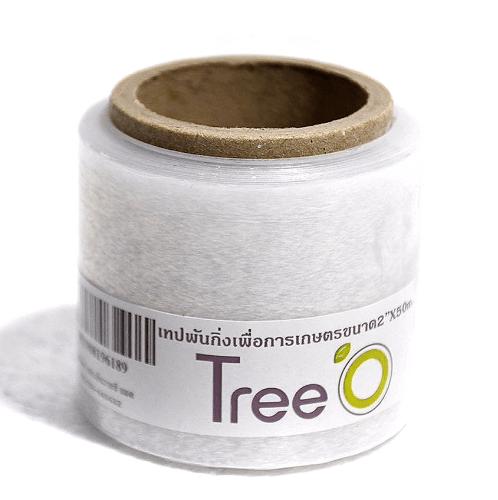 Tree O  เทปพันกิ่งเพื่อการเกษตร สีใส 15micx2x50m