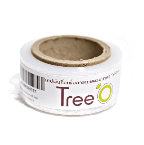 Tree O  เทปพันกิ่งเพื่อการเกษตร 15micx1x50m สีใส