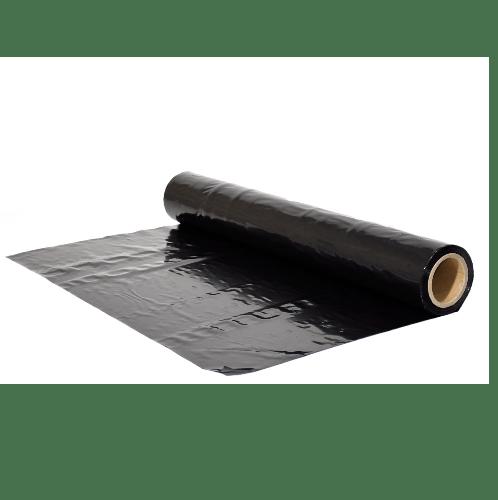 POLLO พลาสติกคลุมเห็ด0.05mm.x1.5m.x70m.สีดำ NYC-HLK005-70 สีดำ
