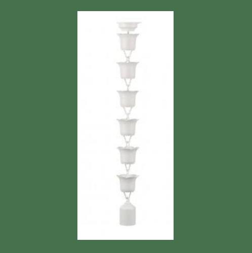 SCG โซ่น้ำลงดอกไม้-ทิวลิป 3ม. ขาว (1/ก) โซ่น้ำลงดอกไม้-ทิวลิป 3ม. ขาว (1/ก) สีขาว
