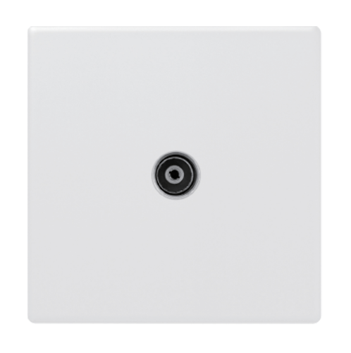 Gentec เต้ารับโทรทัศน์ 86W-10 สีขาว