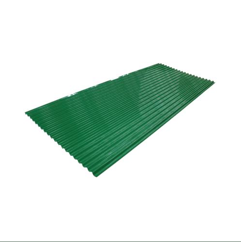 ตอง111 สังกะสี  ลอนเล็ก 9ฟุต สีเขียว สีเขียว