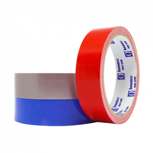 THAI TAPE เทปผ้ากาว  ขนาด 24mm x 8Y (คละสี)