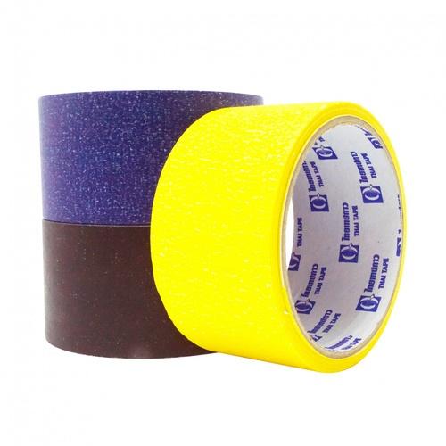 THAI TAPE เทปกระดาษกาวย่นสี  ขนาด 48mm x 15Y (คละสี)