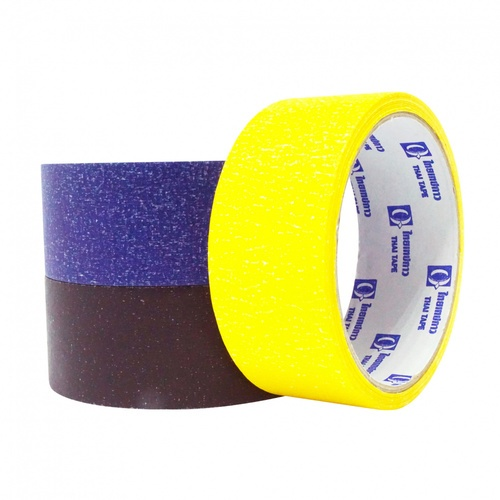 THAI TAPE เทปกระดาษกาวย่นสี  ขนาด 36mm x 15Y (คละสี)