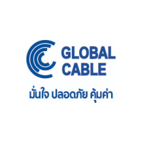 Global Cable สายไฟ  THW IEC01 1x1.5 100เมตร  สีน้ำตาล