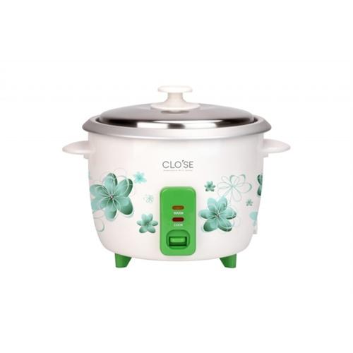 CLOSE หม้อหุงข้าว ความจุ  1.5  ลิตร TO-RF07 สีขาว-เขียว