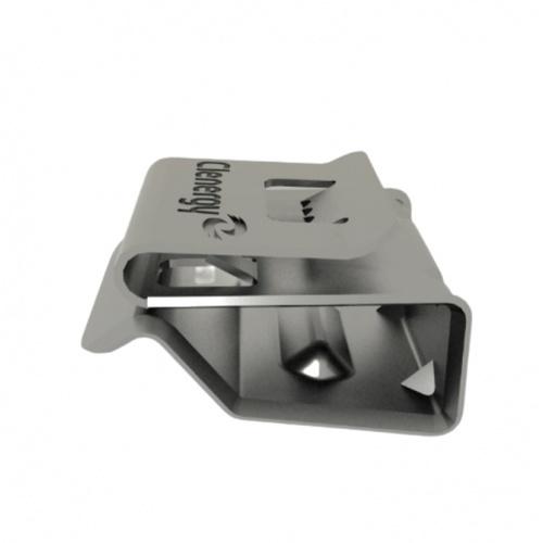 คลีนเนอร์จี้  อุปกรณ์ยึด เคเบิ้ลคลิป EZ-CC-PV/2 สีเงิน