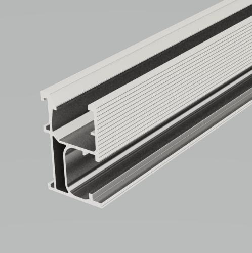 คลีนเนอร์จี้ รางรองรับแผงโซลาร์ ขนาด 5200มม.  (เรียล) ER-R-ECO/5200 สีเงิน