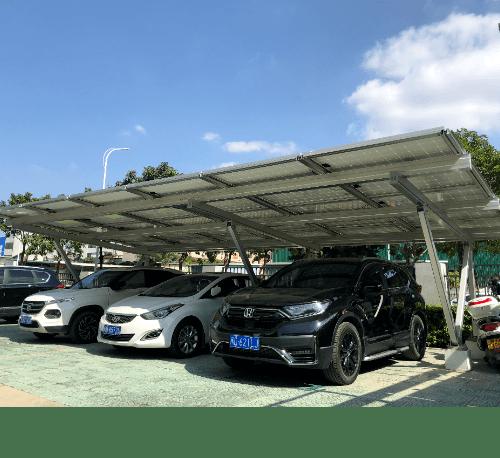 คลีนเนอร์จี้ หลังคาที่จอดรถ Solar cell สำหรับ 1 คัน