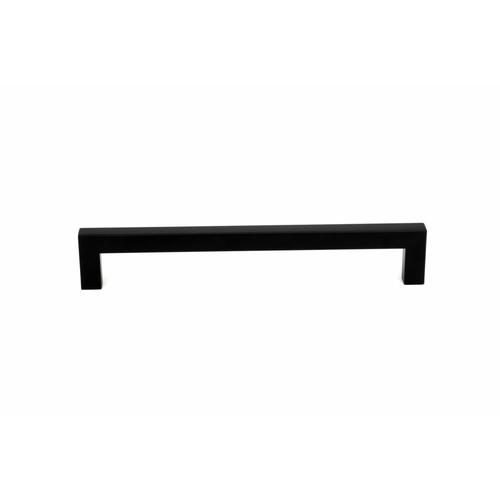 TORSTEN มือจับเฟอร์นิเจอร์สแตนเลส 201 ขนาด 12x204x35มม.  6DJWJ015-3 สีดำ