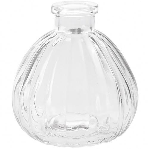 COZY แจกันแก้ว ขนาด 6x13 ซม. Renita003 สีใส ใส