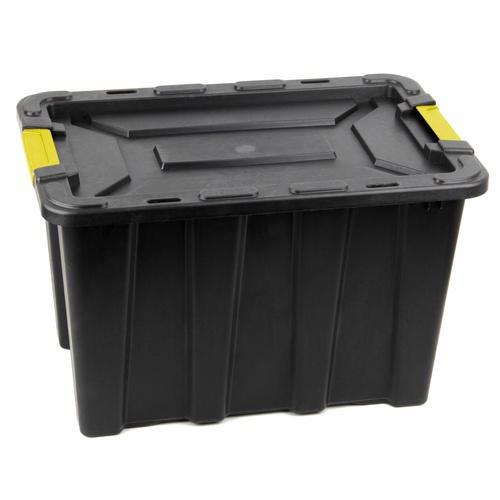 GOME กล่องเก็บของหูล็อค HEAVY 55 ลิตร ขนาด 59x38.5x38.5 ซม.  TG59808 สีดำ/เหลือง