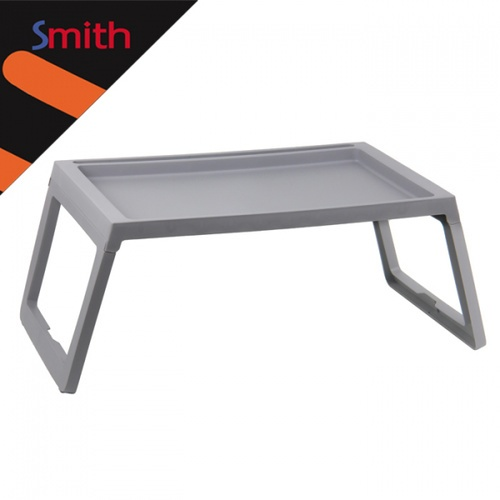 SMITH โต๊ะวางแล็ปท็อป ขนาด 68x36x26ซม. พับได้ TG59226 สีเทา