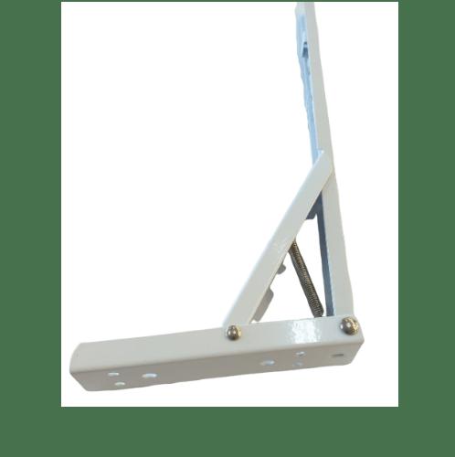 TORSTEN ฉากรับชั้นเหล็ก ขนาด 34x13.3x3.2ซม. 14 AWM-ZJ008 สีขาว