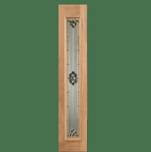 Masterdoors ประตูไม้เรดเมอร์รันตี  ขนาด 40x200 cm. Jasmine-05(40x200)