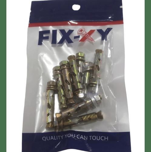 FIX-XY พุกเหล็ก 3/16 EB-01-A (10ชิ้น/แพ็ค)  สีทอง