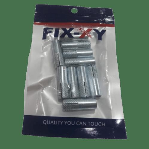 FIX-XY พุกดร็อปอิน 5/16 (10ชิ้น/แพ็ค) ED-002