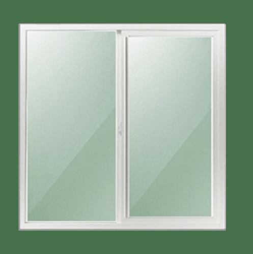 -  ประตูอะลูมิเนียมบานเลื่อน  SS ขนาด 199x208ซม.  ไม่มีมุ้ง สีขาว