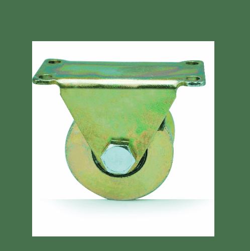 HUMMER ล้อฉากพร้อมขายึดประตู ขนาด 1.1/2นิ้ว ทองแดง SGWV30