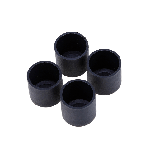 S.S.P. ยางขาโต๊ะกลม สวมนอก (1 ชิ้น/แพ็ค) 2-1/2 นิ้ว สีดำ