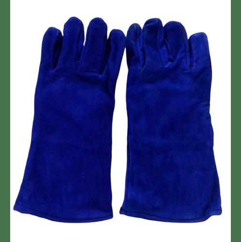 Protx ถุงมือเชื่อม 14 นิ้ว  JR-WGB สีน้ำเงิน