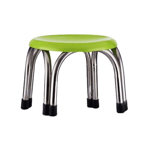 Sane เก้าอี้สแตนเลสสี่ขา 9 นิ้ว CHG 20 สีเขียว