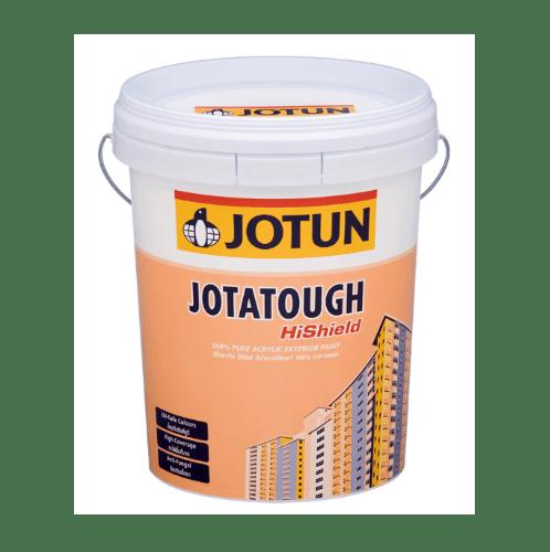 JOTUN สีทาภายนอก กึ่งเงา เบส เอ. 18L. JOTATOUGH HS SG ขาว