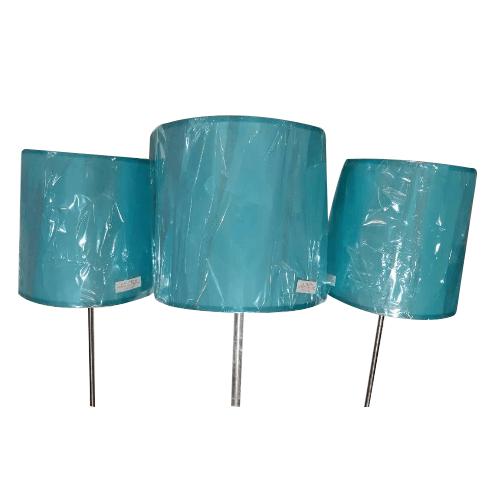 ELON ชุดโคมไฟตั้งโต๊ะ+ตั้งพื้น Modern  MZ58417-3  สีฟ้า