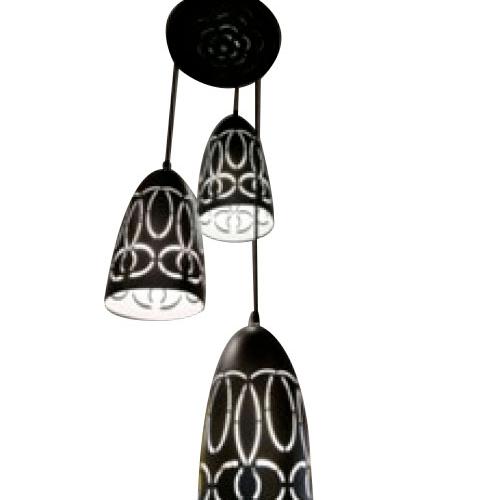 ELON โคมไฟแขวน Classic  58405-3 สีดำ