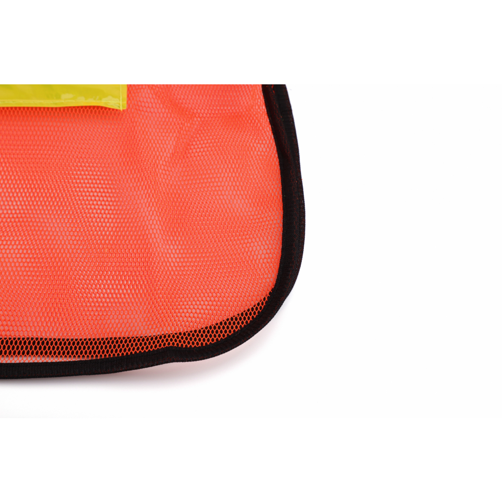 Protx เสื้อจราจรสะท้อนแสง 2แถบ  1ZC-008-Free Size สีส้ม