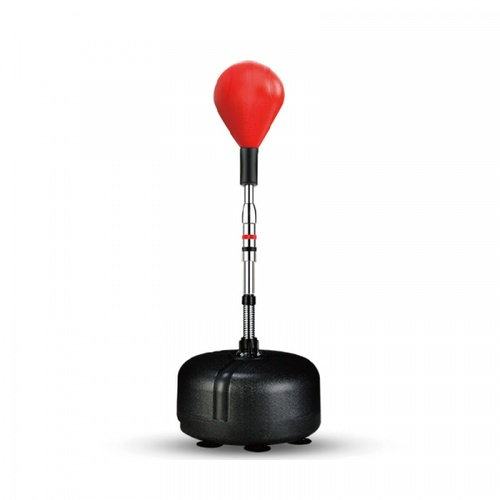 4TEM เป้าซ้อมชกมวย ขนาด18x48x160ซม.  HW006 สีแดง
