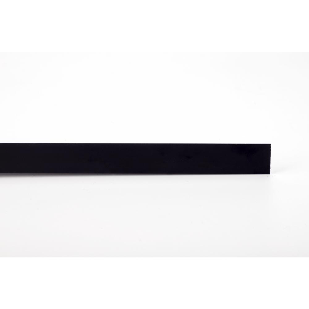 MAC ฉากปิดมุมอลูมิเนียม 20 มม. ยาว 2 เมตร 2DDY009-BK สีดำ