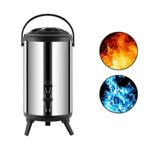 Merga ถังชานมสเตนเลส 18 ลิตร   Jupiter Bucket BK01-18L สีดำ