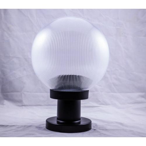 EILON โคมไฟหัวเสาทรงกลม  ขนาด 10นิ้ว  TVZT120-10 สีขาวใส